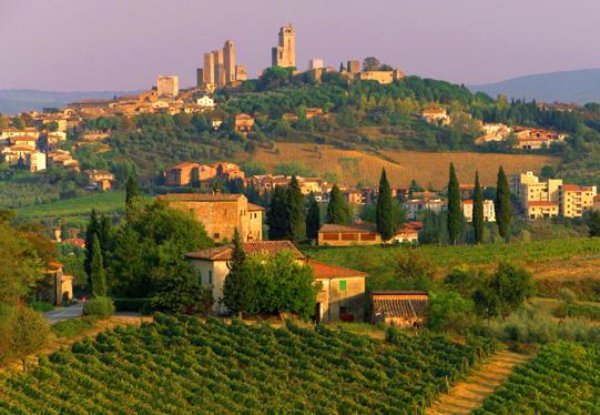 Conduciendo por la Toscana 5