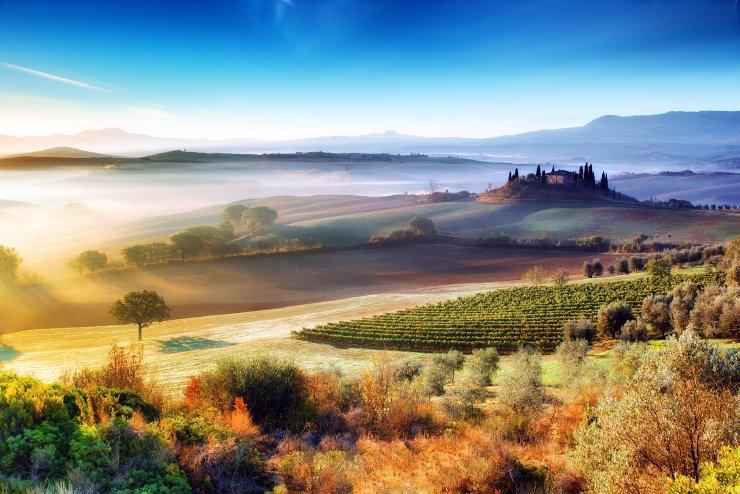 Conduciendo por la Toscana 6