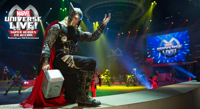 evento MARVEL UNIVERSE LIVE