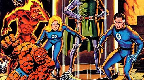 Los 4 Fantásticos uno de los mejores grupos de superhéroes 4