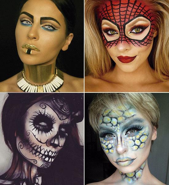un maquillaje de halloween a prueba de bombas - Como Maquillarse En Halloween