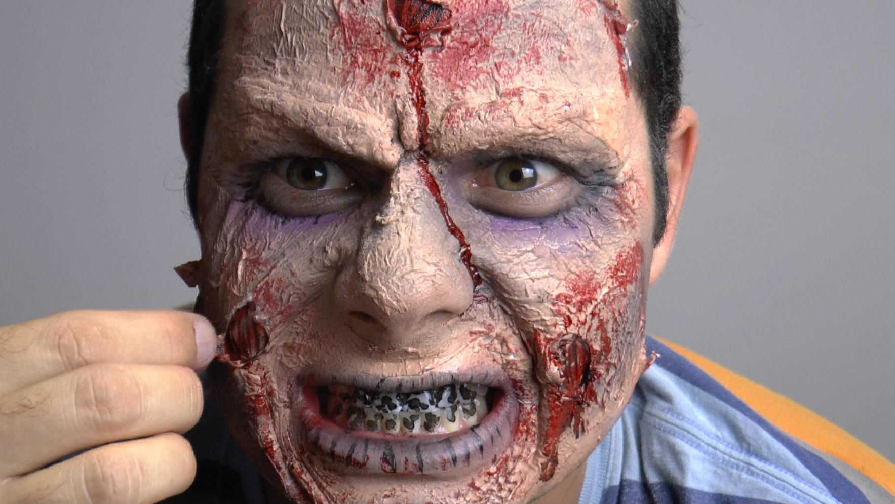 maquillaje de zombie triunfa este halloween