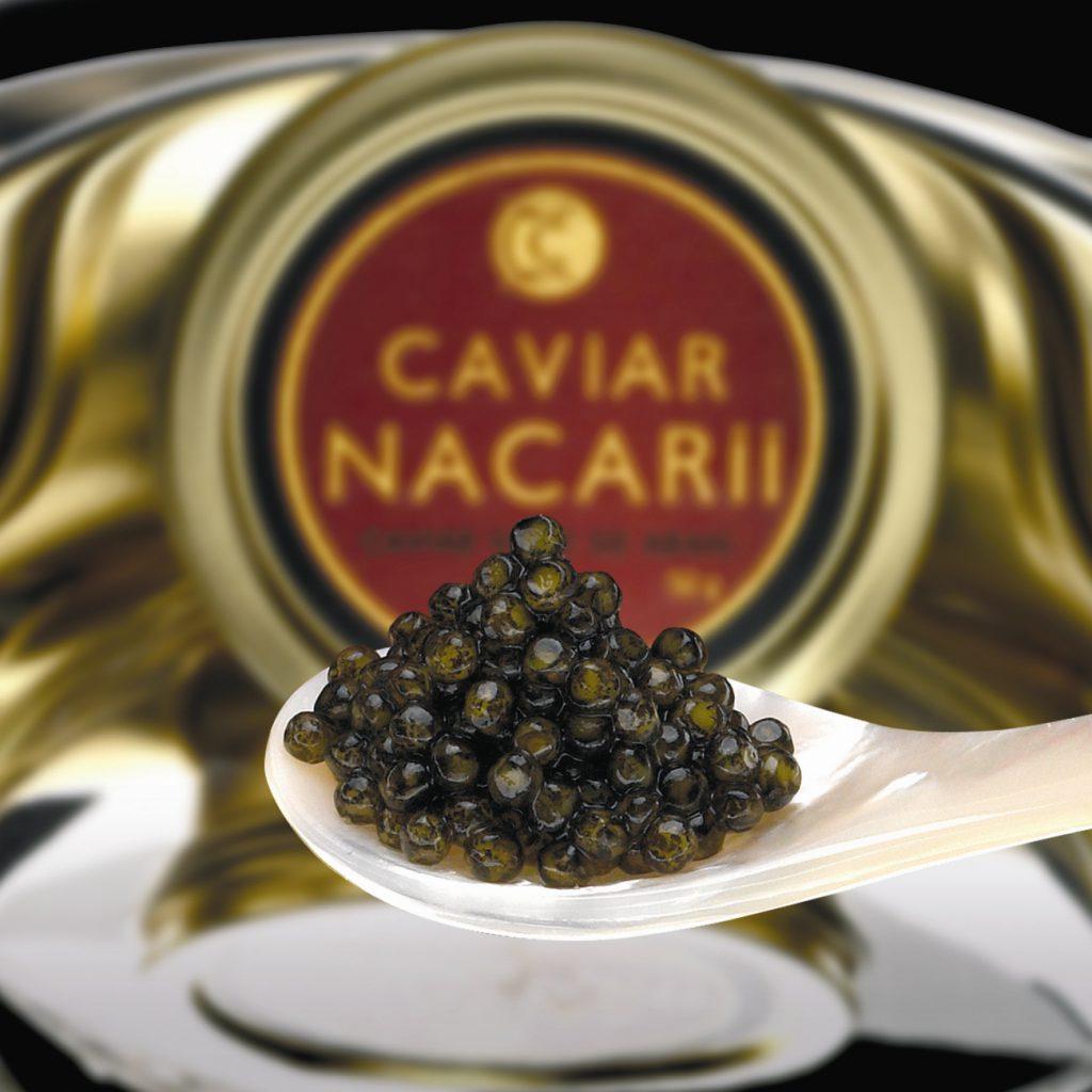 TIPOS DE CAVIAR DE CAVIAR NACARII 1