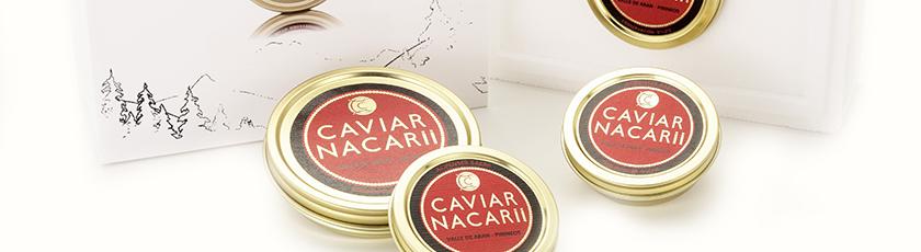 TIPOS DE CAVIAR DE CAVIAR NACARII 3