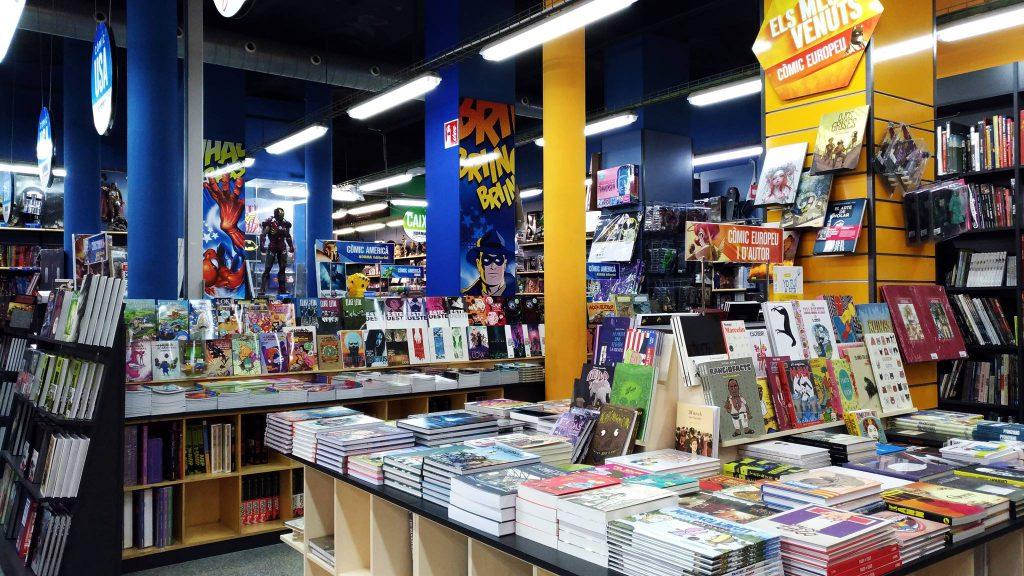 tienda de comics