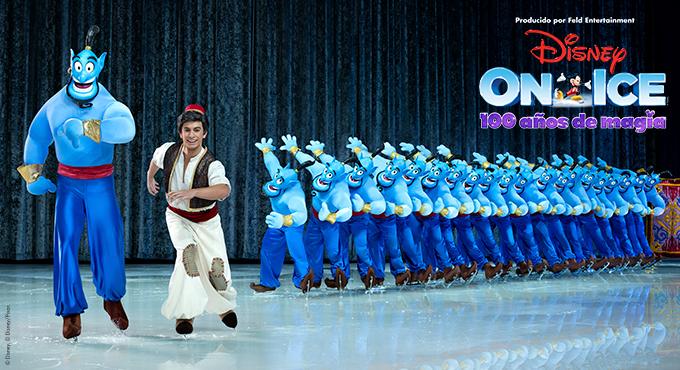 Aladdin en Disney sobre hielo