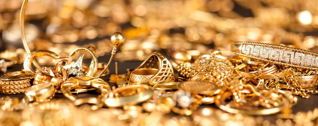 limpiar prendas de oro