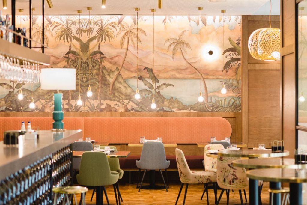 El ambiente y diseño esmerado del restaurante Matiz de Málaga