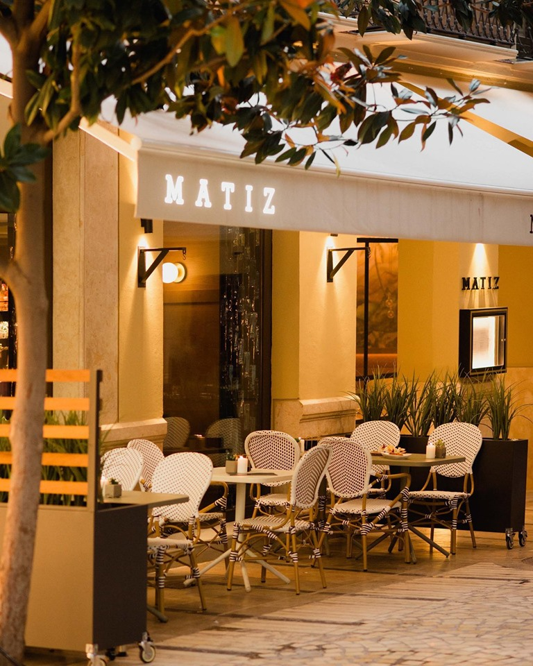 Restaurante Matiz Málaga, en el centro
