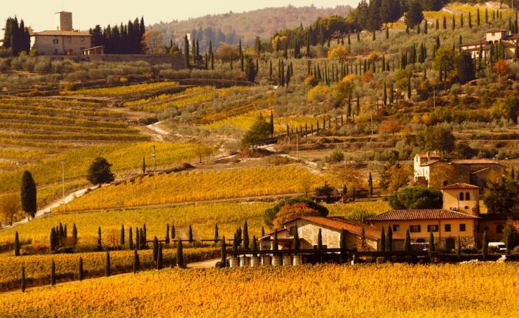 rutas en coche por la Toscana