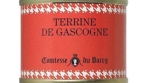 El paté a la gascona de Comtesse du Barry es ideal para apertivo
