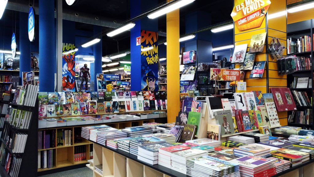 tienda comics barcelona