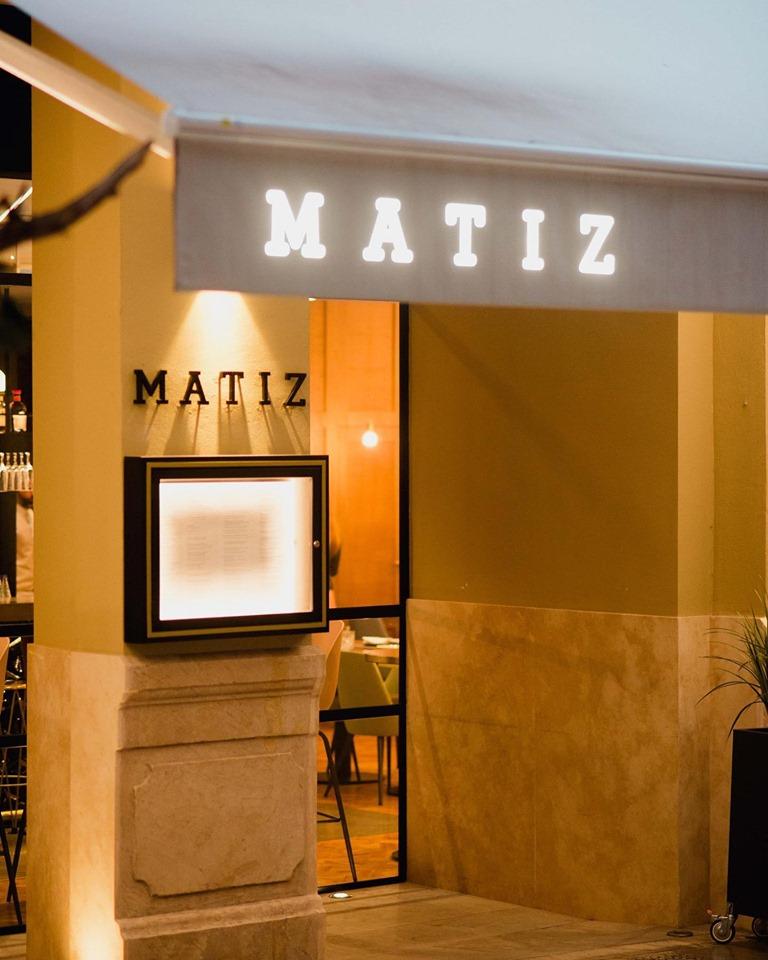 restaurante matiz malaga