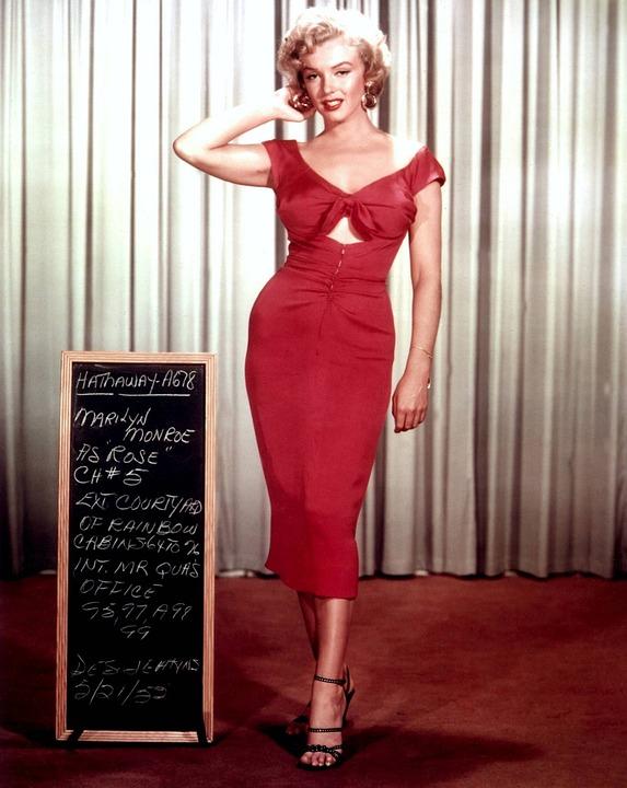 Marilyn Monroe fue un icono que marcó referencias estética en su época