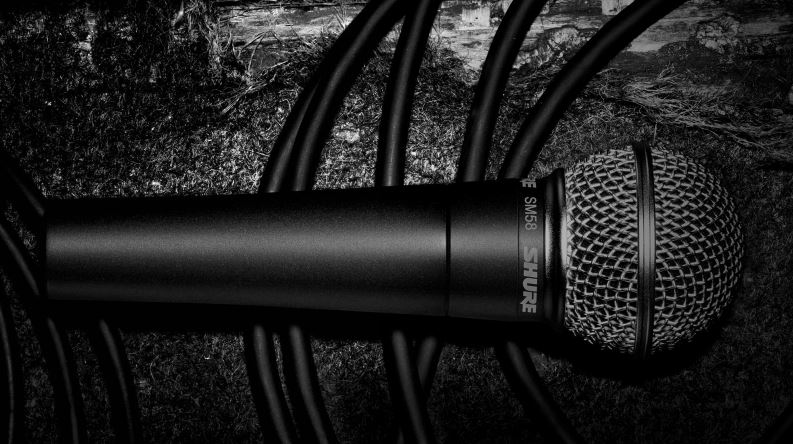 Microfono Shure SM58 inalambrico