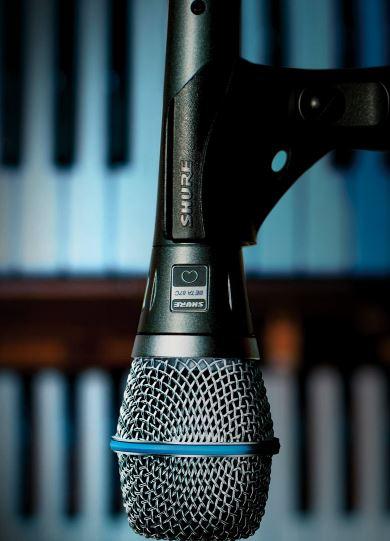Microfonos Shure Beta 87A
