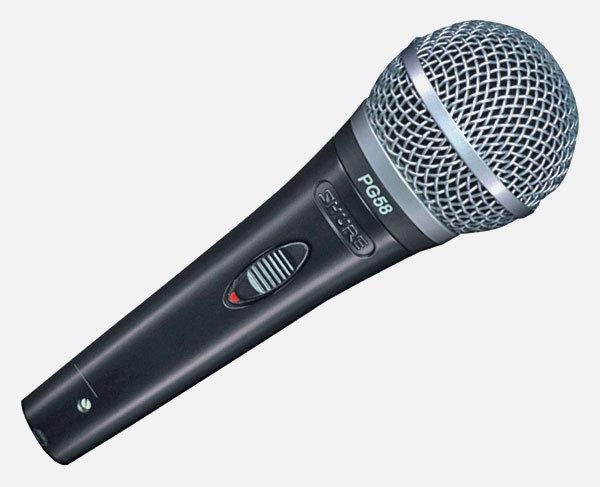 Microfono Shure PG58 XLR
