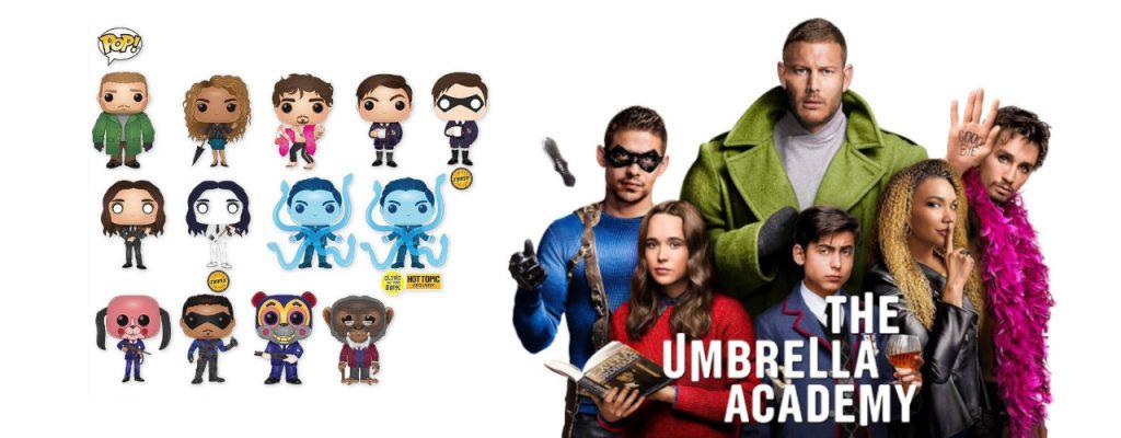 The Umbrella Academy Funko Pop