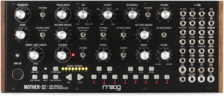 Sintetizador Moog Mother