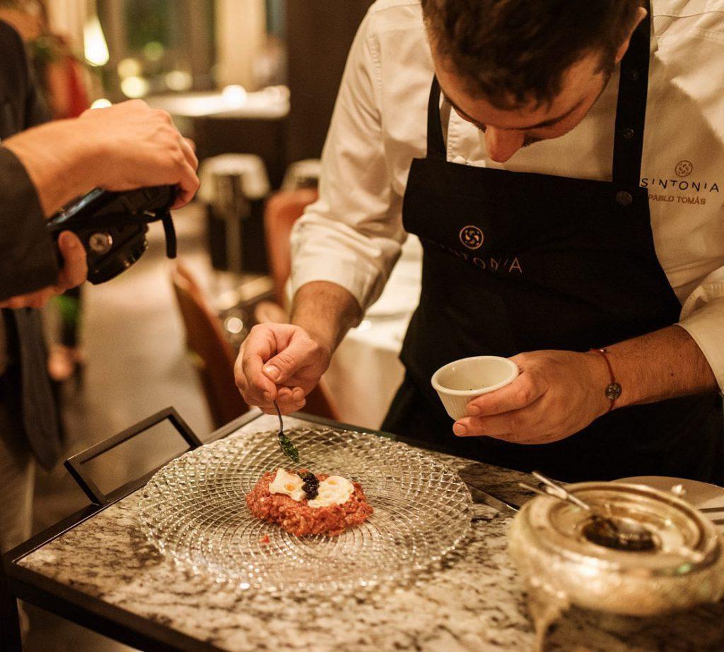 El Restaurante Sintonia basa su cocina en la gastronomia tradicional mediterrania
