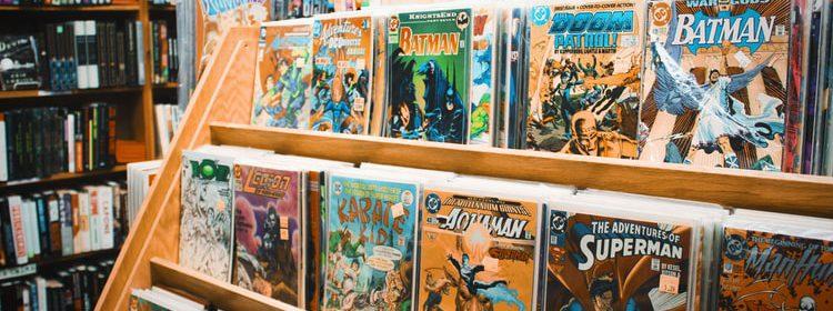 En una tienda de cómics como Norma, se pueden encontrar lo más destacado del cómic americano, cómic europeo y manga