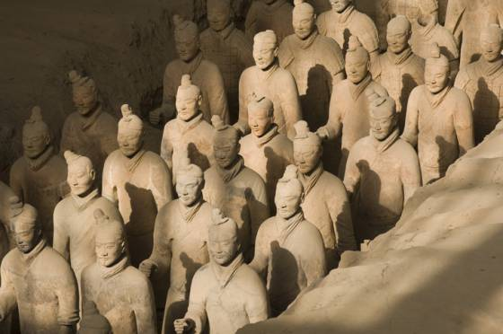 arte oriental animal crossing  Los guerreros de Xian